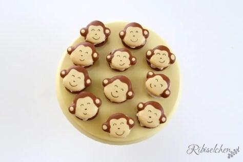 Dschungelparty Süßigkeiten Macarons