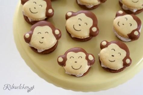 Affen Macarons