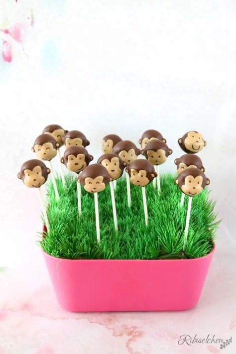 Dschungelparty Süßigkeiten Cake Pops
