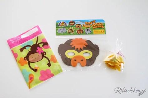 Gastgeschenke der Affen- Dschungelparty