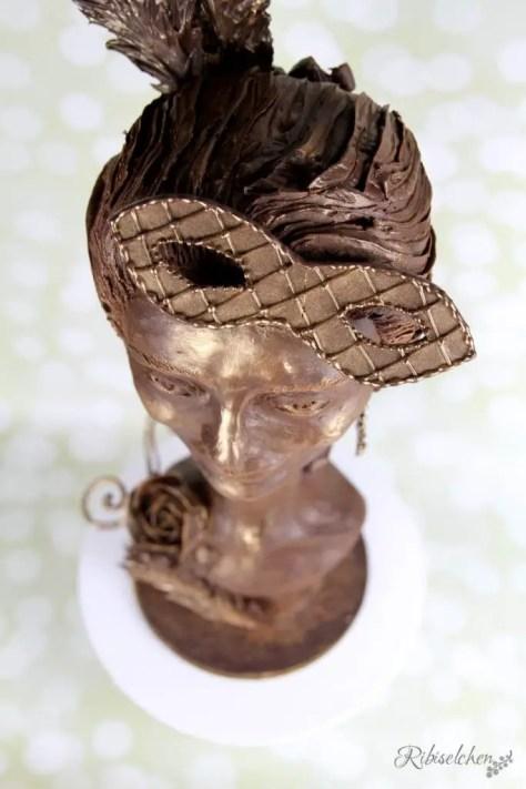3D Torte Büste