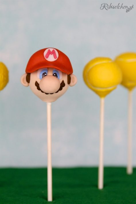 Super Mario und Tennis Cake Pop Tutorial