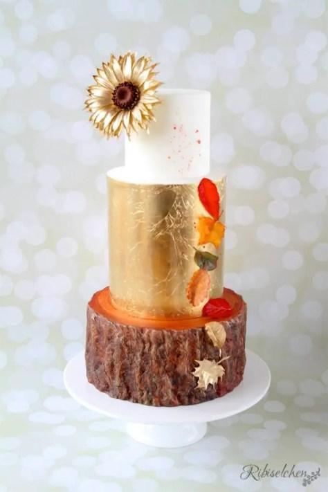 Herbsttorte - Golden Autumn Cake