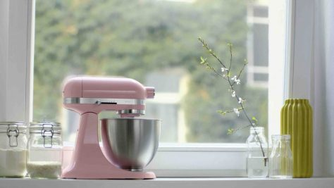 Rosa Kitchenaid - rosa Geschenksideen Backen