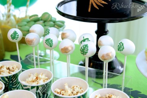 Tropische Party Cake Pops