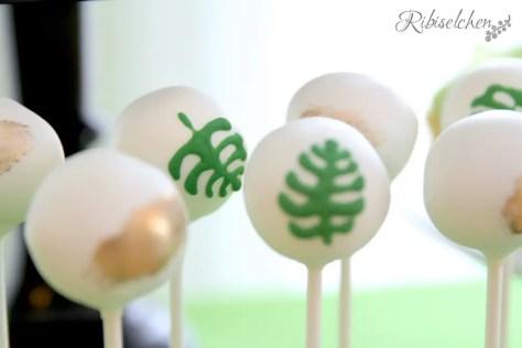 Tropische Party Cake Pops