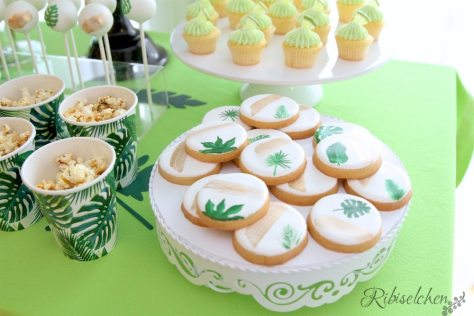 Tropische Party Cookies