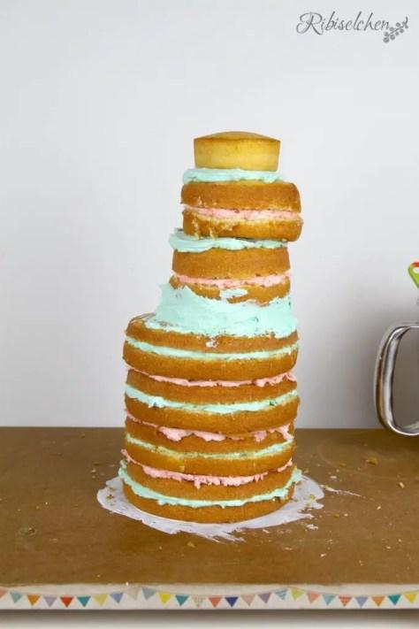 Meerjungfrauentorte Anleitung - Mermaid Cake