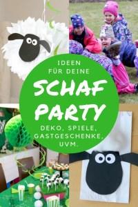 Ideen für deine Schaf Party: Deko, Partyspiele, Gastgeschenke + gratis Party-Planer!