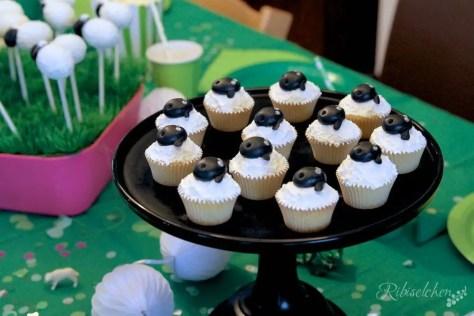 Schaf Party Cupcakes