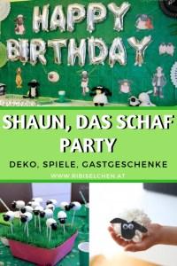 Ideen für deine Shaun, das Schaf - Party: Deko, Partyspiele, Gastgeschenke + gratis Party-Planer!