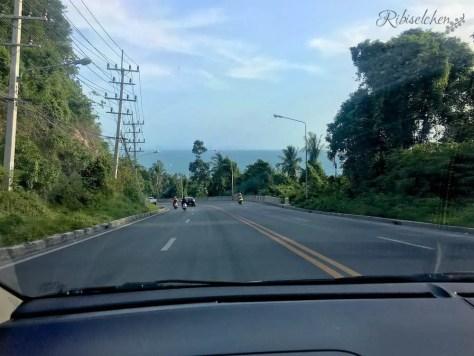 Koh Samui Straße