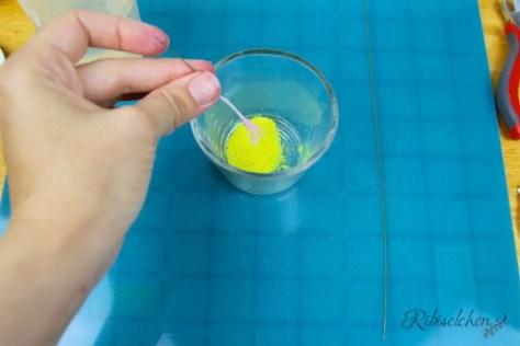Staubgefäße für Zuckerblumen selber machen