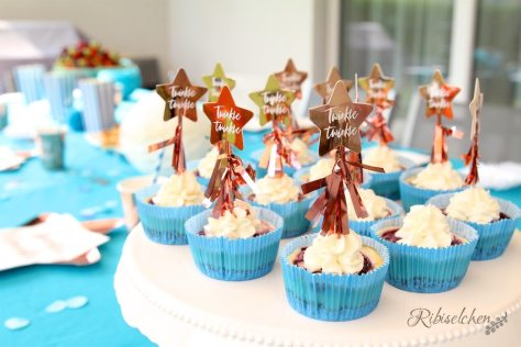 Babyparty Essen Cupcakes