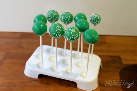 grüne Cake Pops