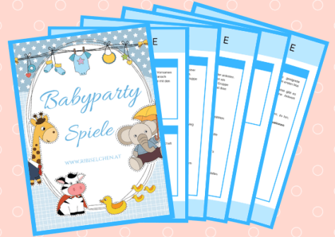 Gratis Babyparty Spiele Download