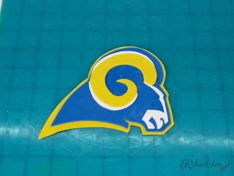 Logo für Football Torte
