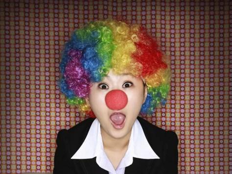 Clown für Kindergeburtstag zu Hause