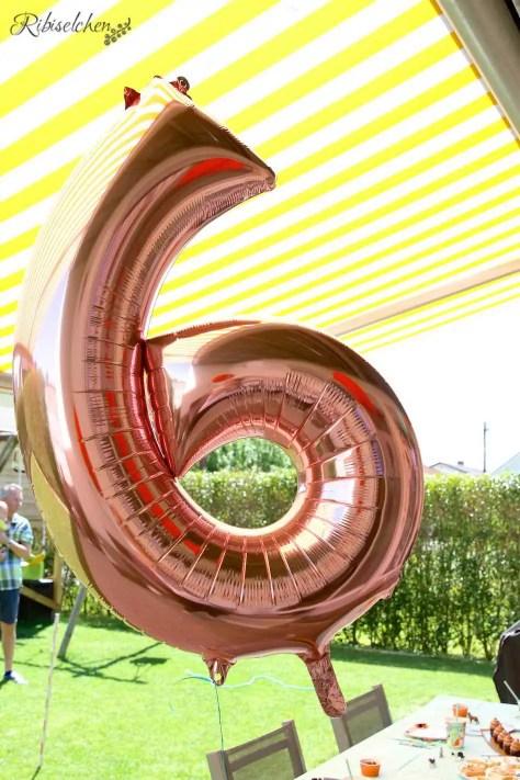 6-er Helium Ballon