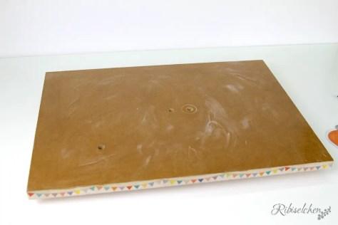 Holzplatte für Torte