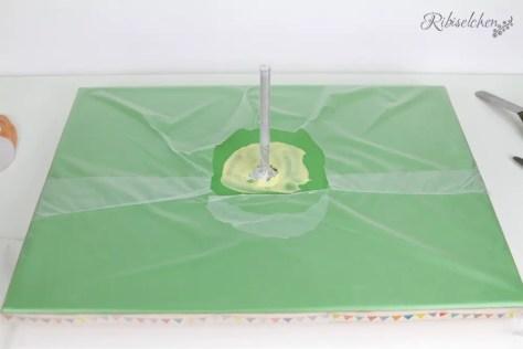 Tortenplatte mit Gewindestange