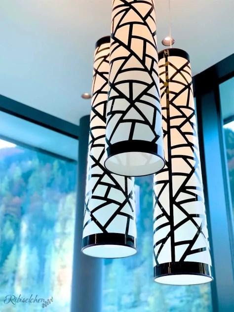 Lampen im Hotel Lürzerhof