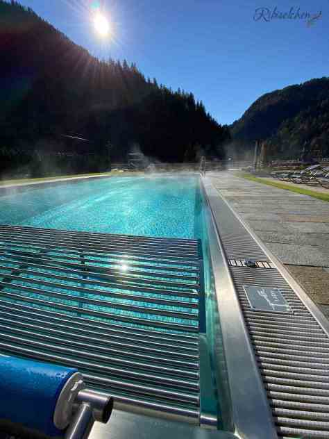 Outdoor-Pool im Hotel Lürzerhof