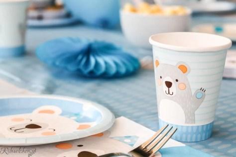 Bärengeburtstag Tischware