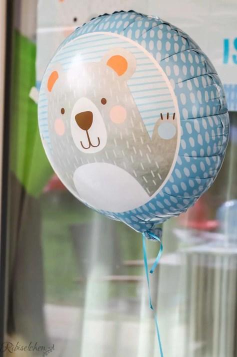 Bärenluftballon