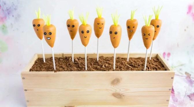 Karotten Cake Pops