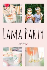 Lama Party Pin