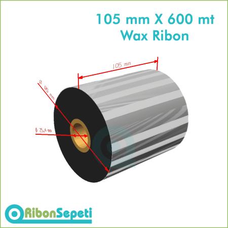 105 mm X 600 mt Wax Ribon (Online Satın Al)