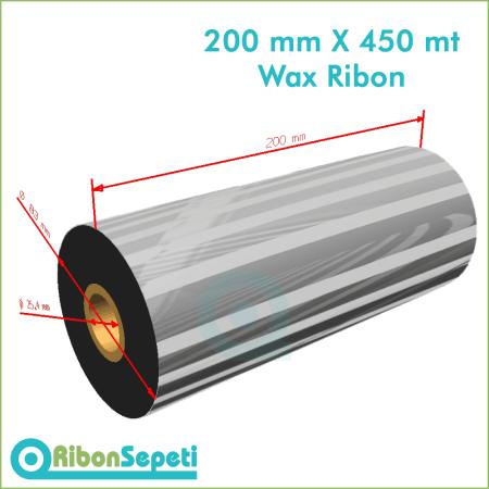 200 mm X 450 mt Wax Ribon (Online Satın Al)
