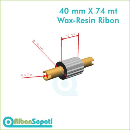 40 mm X 74 mt Wax-Resin Ribon Fiyatı (Online Satın Al)