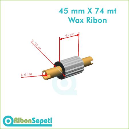 45 mm X 74 mt Wax Ribon Fiyatı (Online Satın Al)
