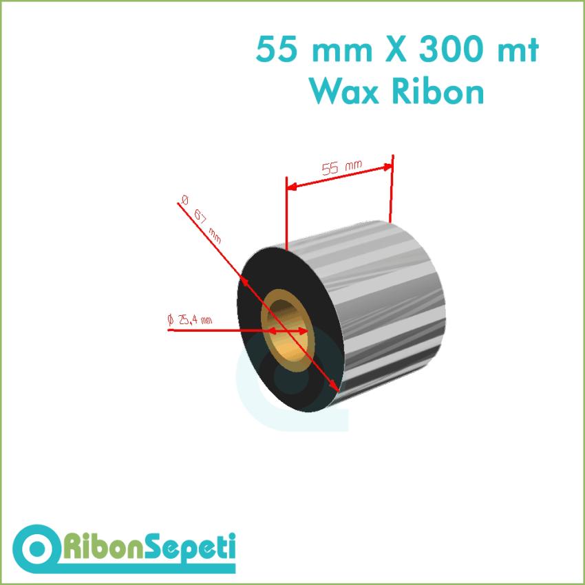 55 mm X 300 mt Wax Ribon Fiyatı (Online Satın Al)