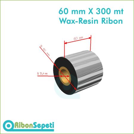 60 mm X 300 mt Wax-Resin Ribon Fiyatı (Online Satın Al)