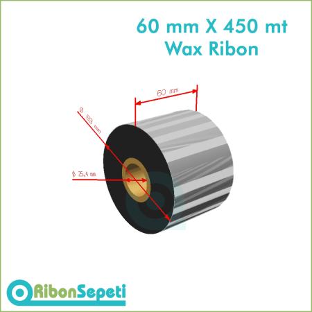 60 mm X 450 mt Wax Ribon (Online Satın Al)