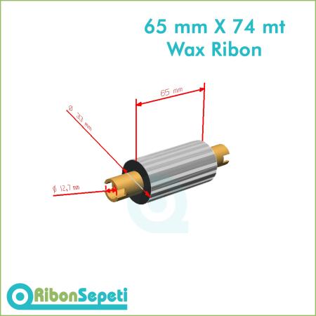 65 mm X 74 mt Wax Ribon Fiyatı (Online Satın Al)