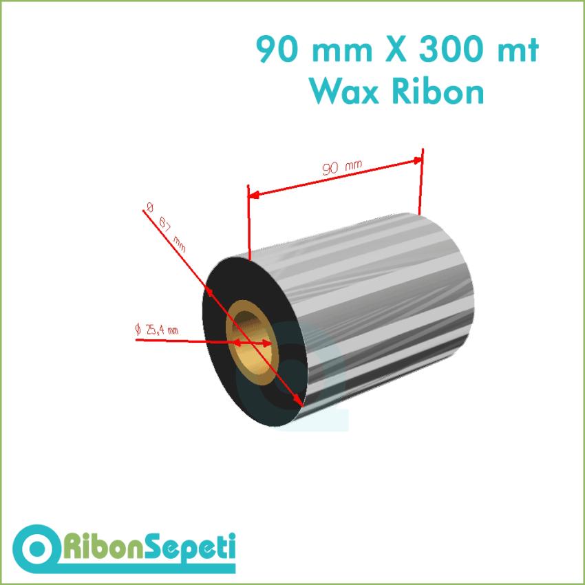 90 mm X 300 mt Wax Ribon Fiyatı (Online Satın Al)