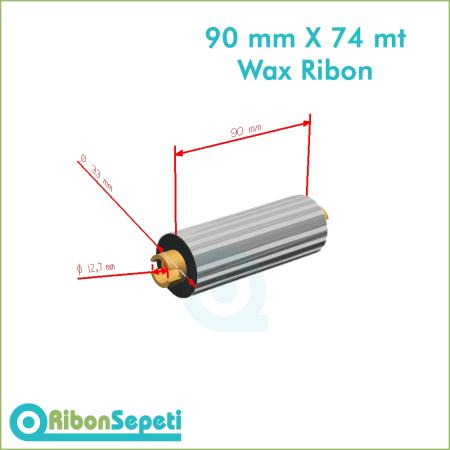90 mm X 74 mt Wax Ribon Fiyatı (Online Satın Al)