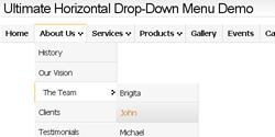 CSS Drop Down Menu