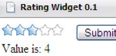 Rating Widget JavaScript