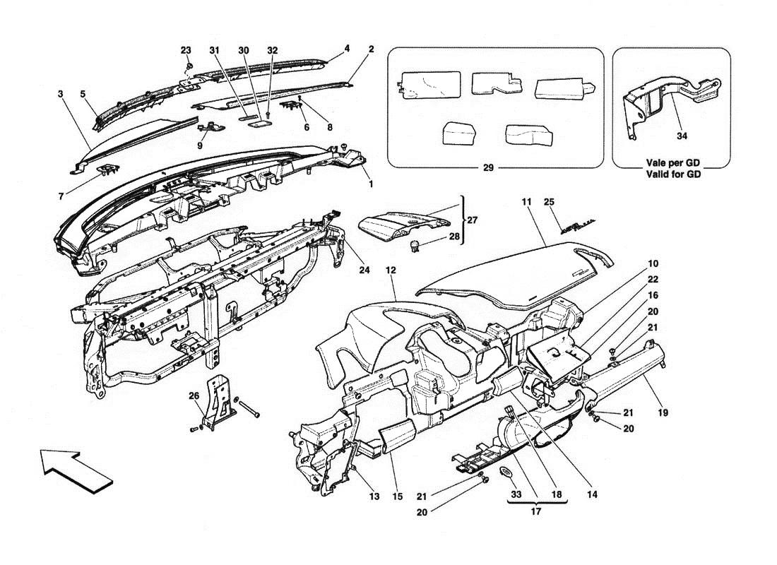 Ferrari 458 Italia Dashboard