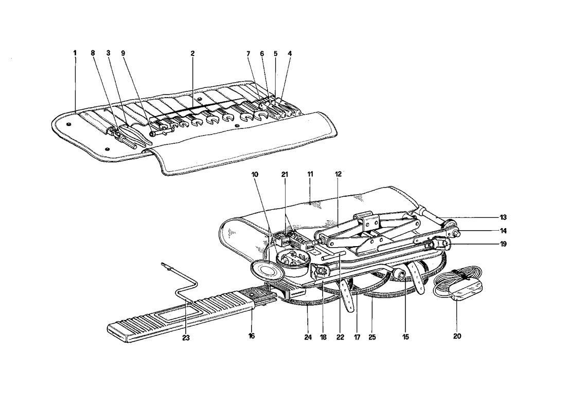 Ferrari Mondial Qv Tool Kit