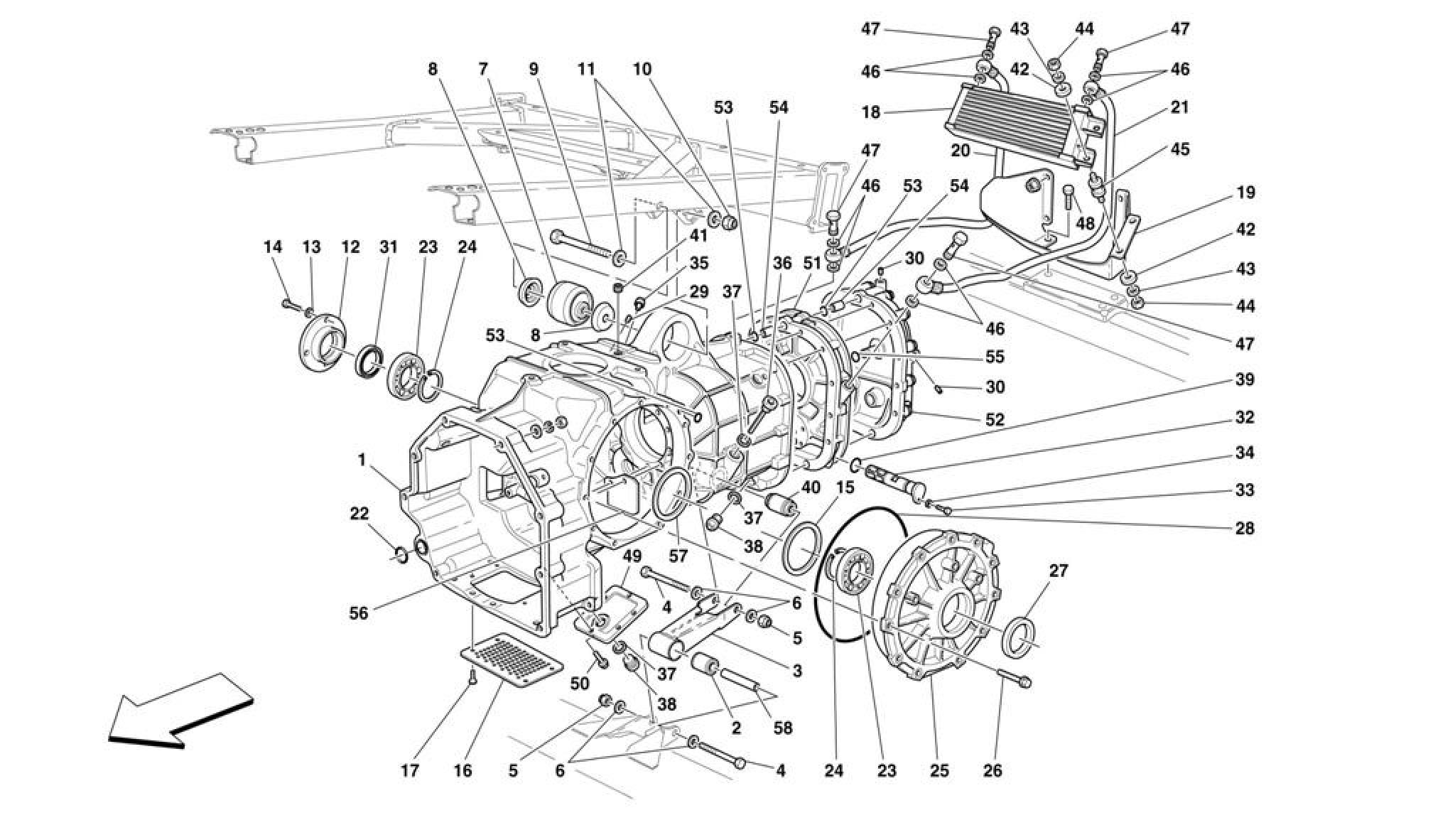 Ferrari 360 Challenge Gearbox