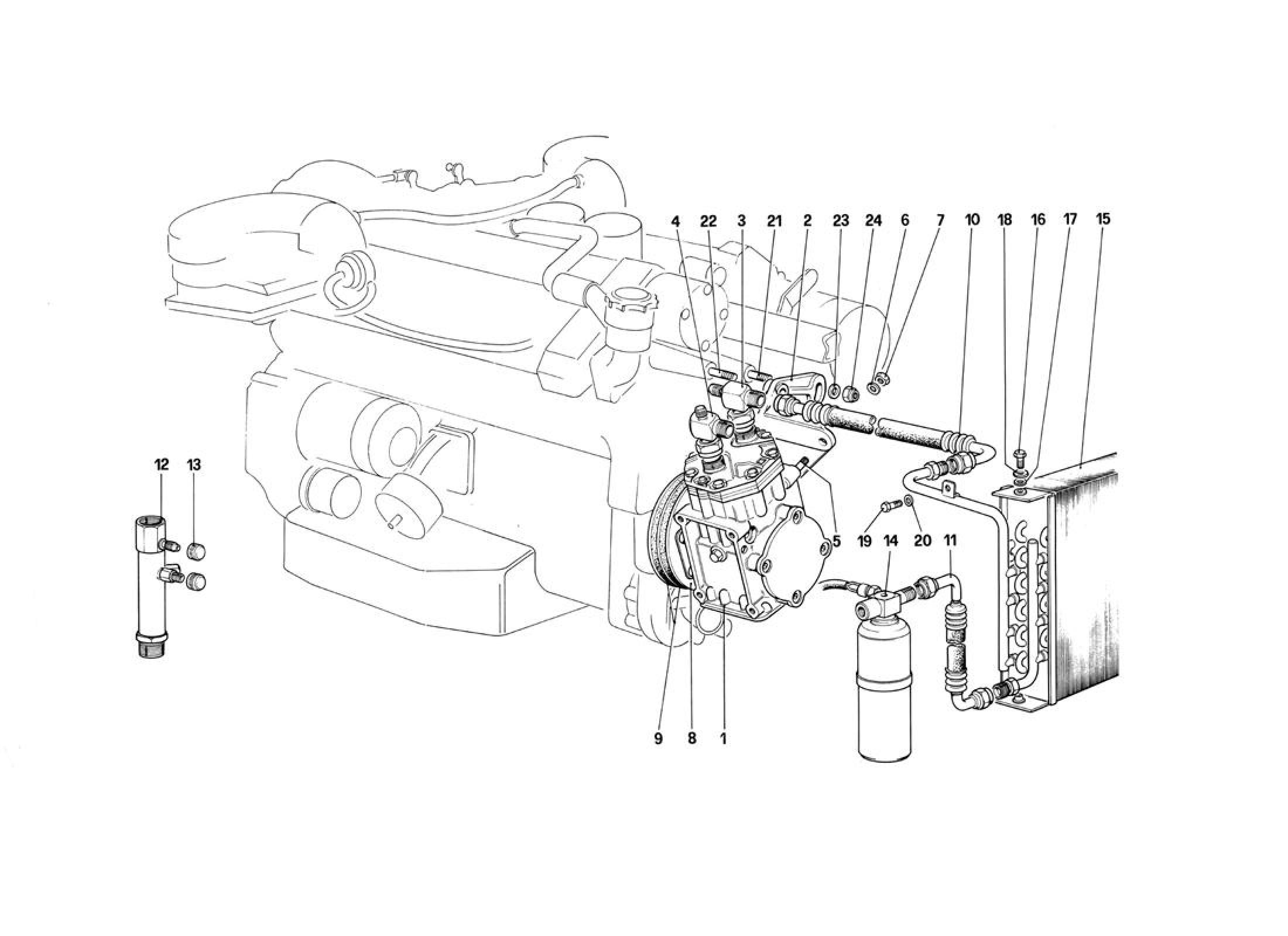 Ferrari 412 Air Conditioning System