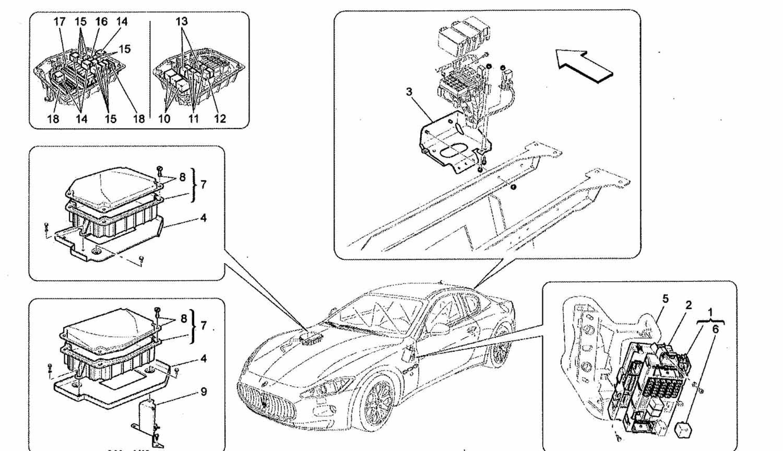 Maserati Gran Turismo Fuse Box Amp Relays