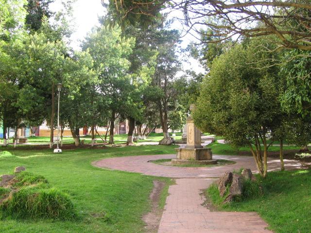 Parque Pinzón, Tunja