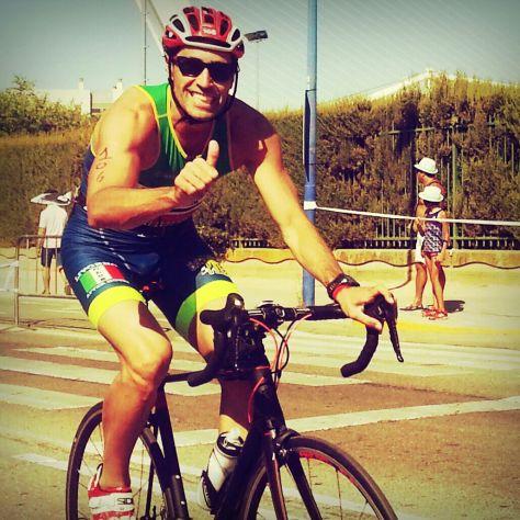 Triatlon Sevilla dorsal 106 Ricardo Sancho